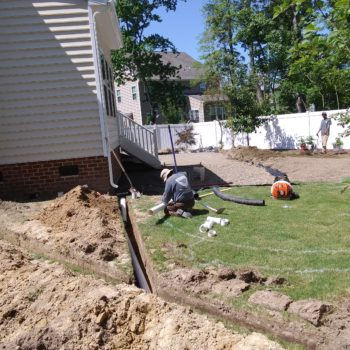 Drainage Solutions – Snipes Lawn and Landscaping
